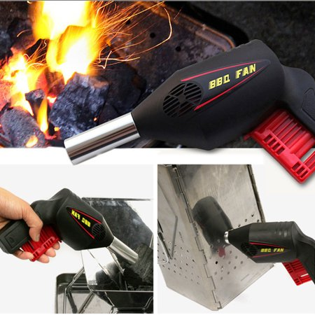 Barbecue Air Blower BBQ Hand Fan BBQ Grill Charcoal Fire Booster Outdoor - Hand Grille