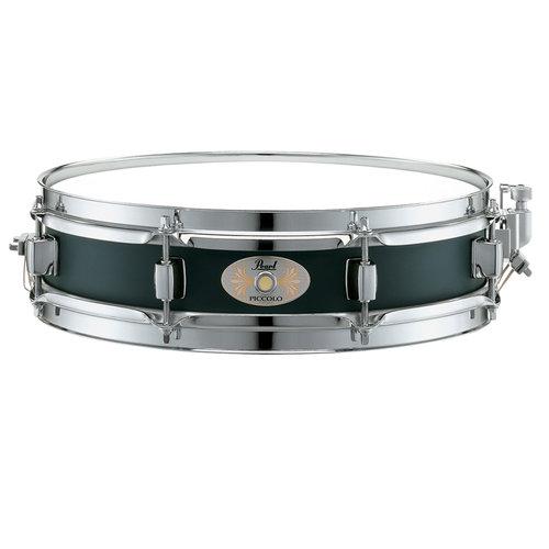 """Pearl 13""""x3"""" Black Steel Piccolo Snare Drum"""