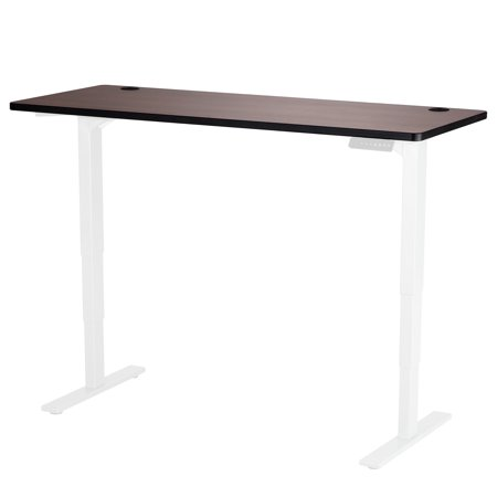 1890CY Office Furniture 42 Lbs Weight Capacity 60 Inch x 24 Inch Cherry Laminate Top for Height-Adjustable Table Base