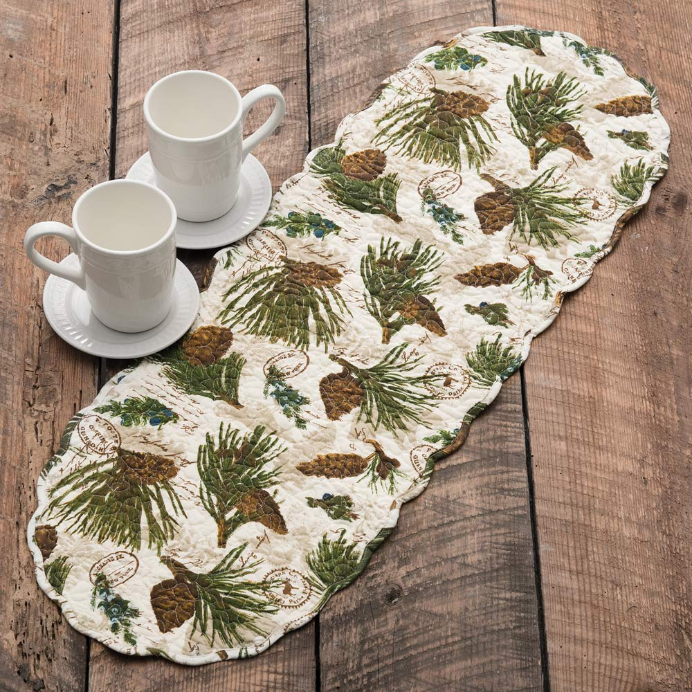 Walk In The Woods Table Runner   36 Inch
