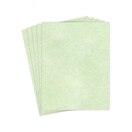 "Stationery Parchment Recycled Paper | 65Lb Cover Cardstock | 8.5"" x 11"" Inches 