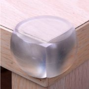 Codream 12 Pcs Baby Kids Safety Care Products Anticollision Transparent Round Table Desk Corner Guard Cover Protector