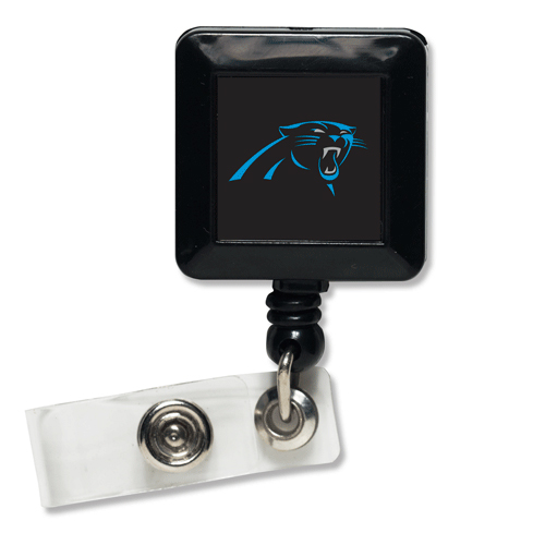 Carolina Panthers Retractable Badge Holder