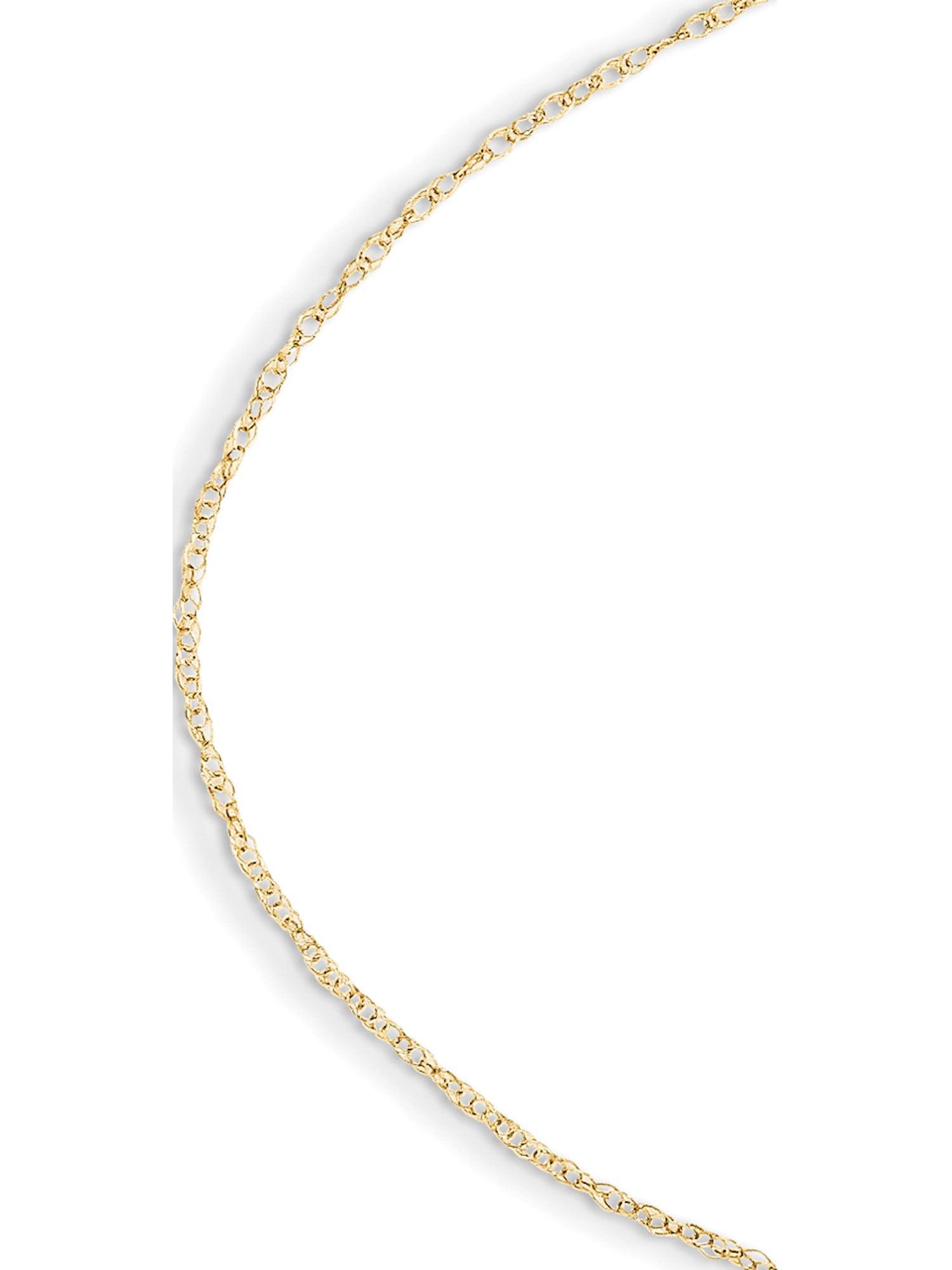 14k Yellow Gold Madi K Child's Rope Chain