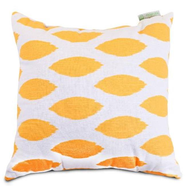 Majestic Home Yellow Alli Extra Large Pillow