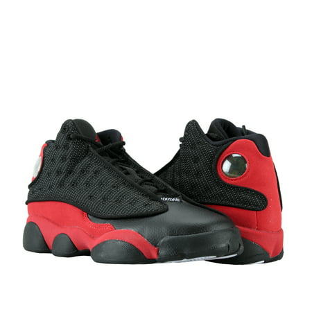 Nike Air Jordan 13 Retro BG Black/Red-White Big Kids Basketball Shoes 414574-004