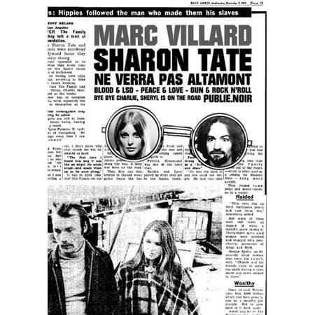 Sharon Tate ne verra pas Altamont - eBook (Sharon Tate Costume)