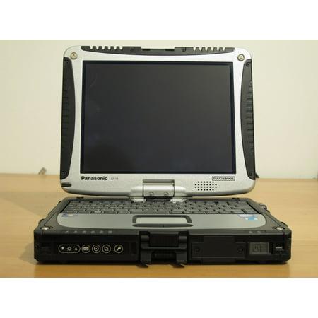 Refurbished Panasonic Toughbook CF-19 CF19 CF 19Touchscreen Core 2 Duo U7500 1.06 Ghz Centrino Duo 4 Gb Ram Memory, 320 Gb HDD Harddrive, Windows 7 ()