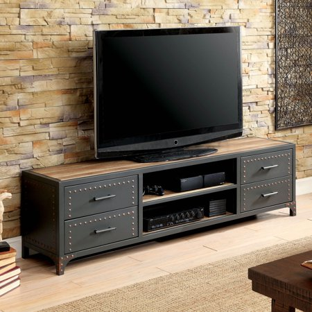 Furniture of America Tierre TV Stand - -