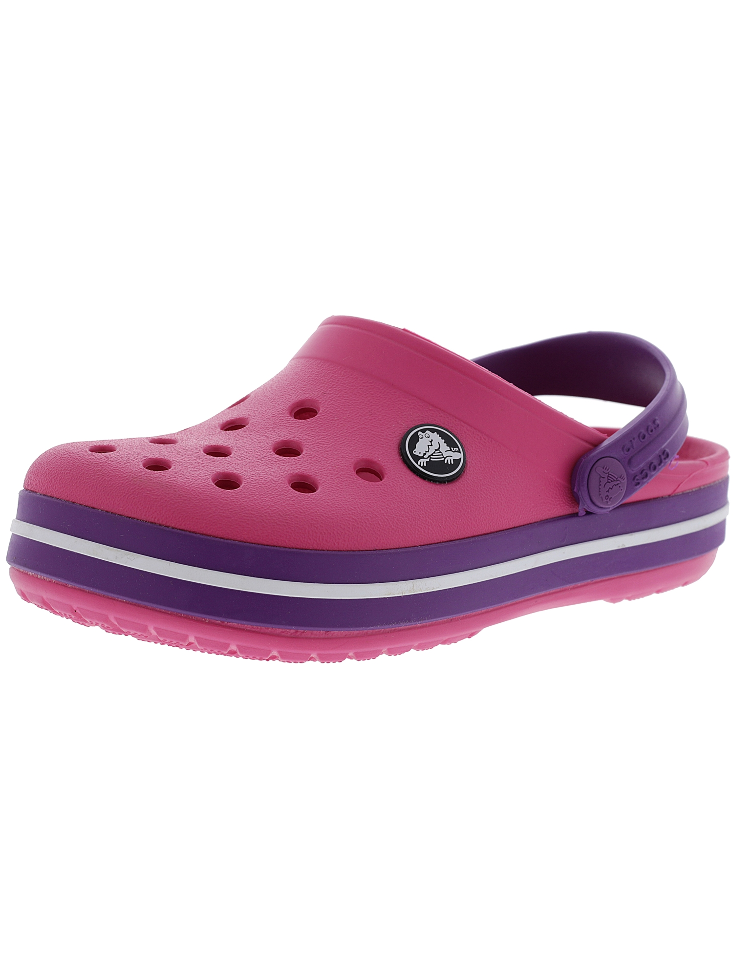 Crocs Kids Crocband Clog Ltd Navy / Citrus Clogs - 7M