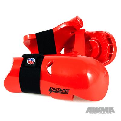 ProForce Lightning Sparring Gloves / Punch - Red Large