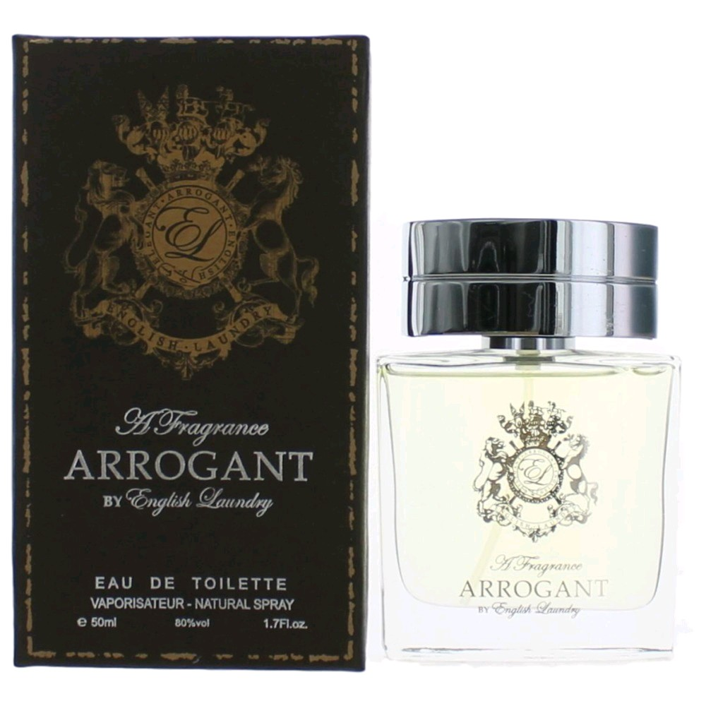 Arrogant Cologne by English Laundry, 1.7 oz EDT Spray for Men