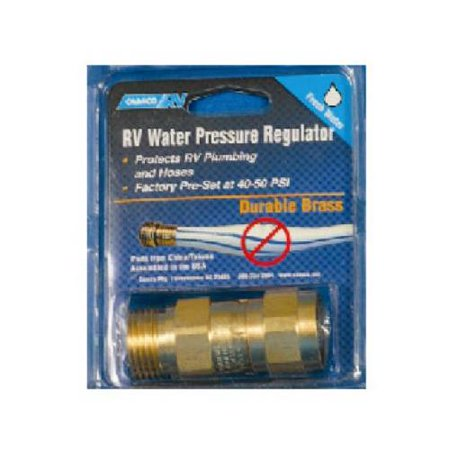 camco mfg 40055 rv water pressure regulator brass. Black Bedroom Furniture Sets. Home Design Ideas