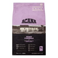 Acana Heritage Grain-Free Feast Dry Dog Food, 25 lb