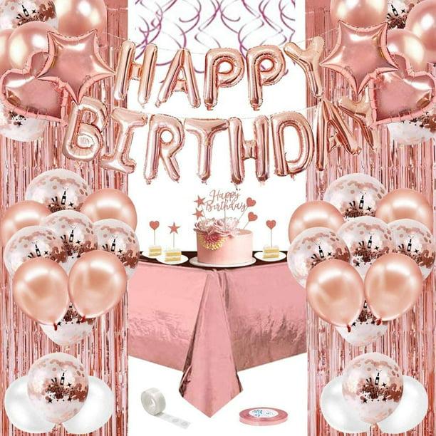 Rose Happy Birthday Napkins