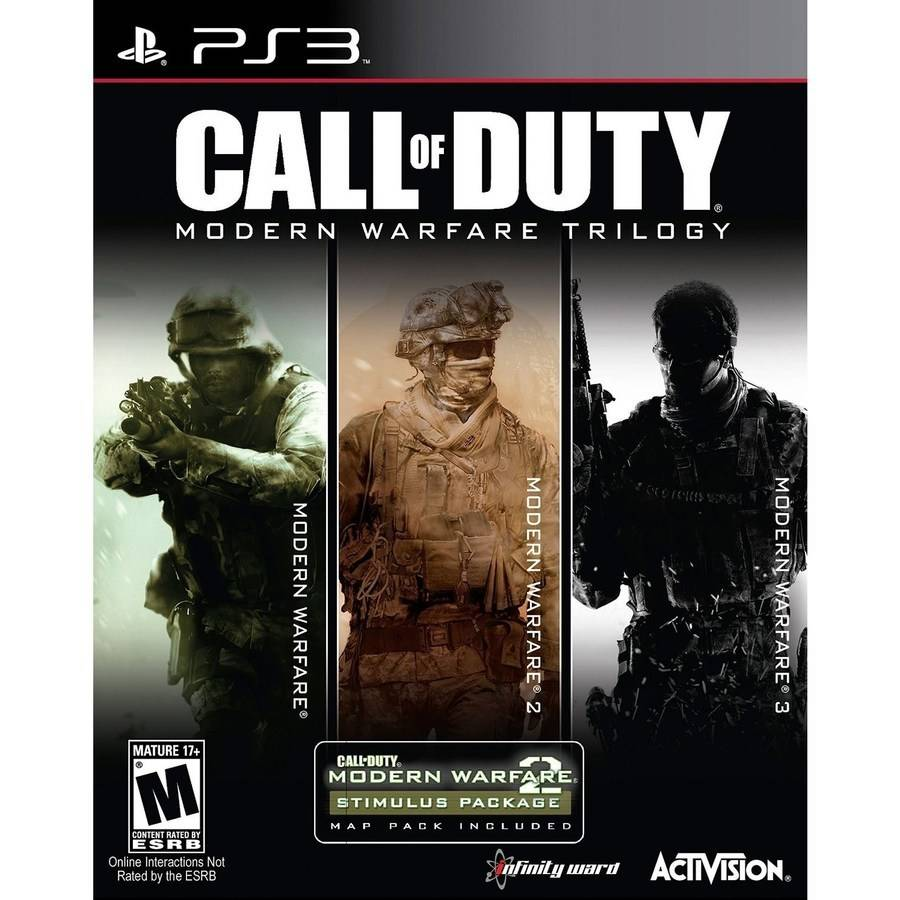 Call of Duty Modern Warfare Trilogy (Playstation 3) by Raven Software