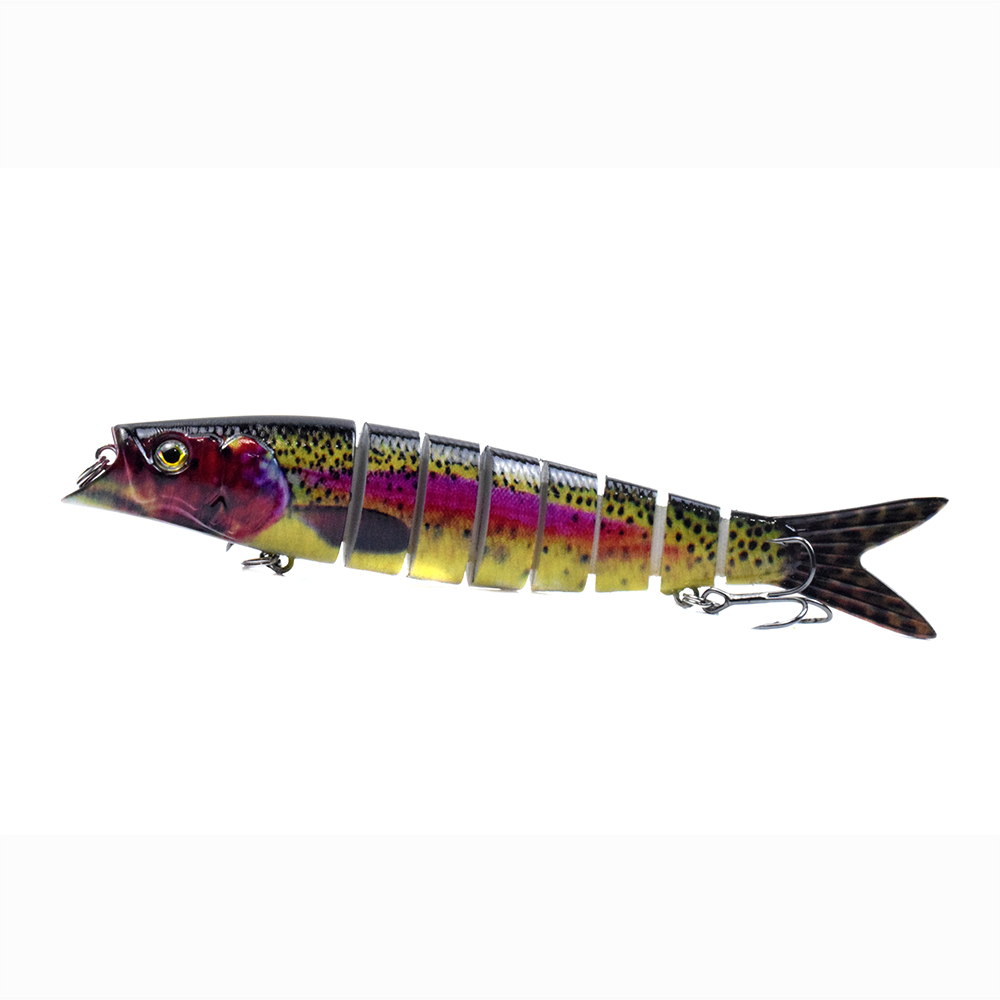 Details about  /6 Sections Sinking Lure Crankbaits Artificial Hard Bait Bionics Fishing Lure