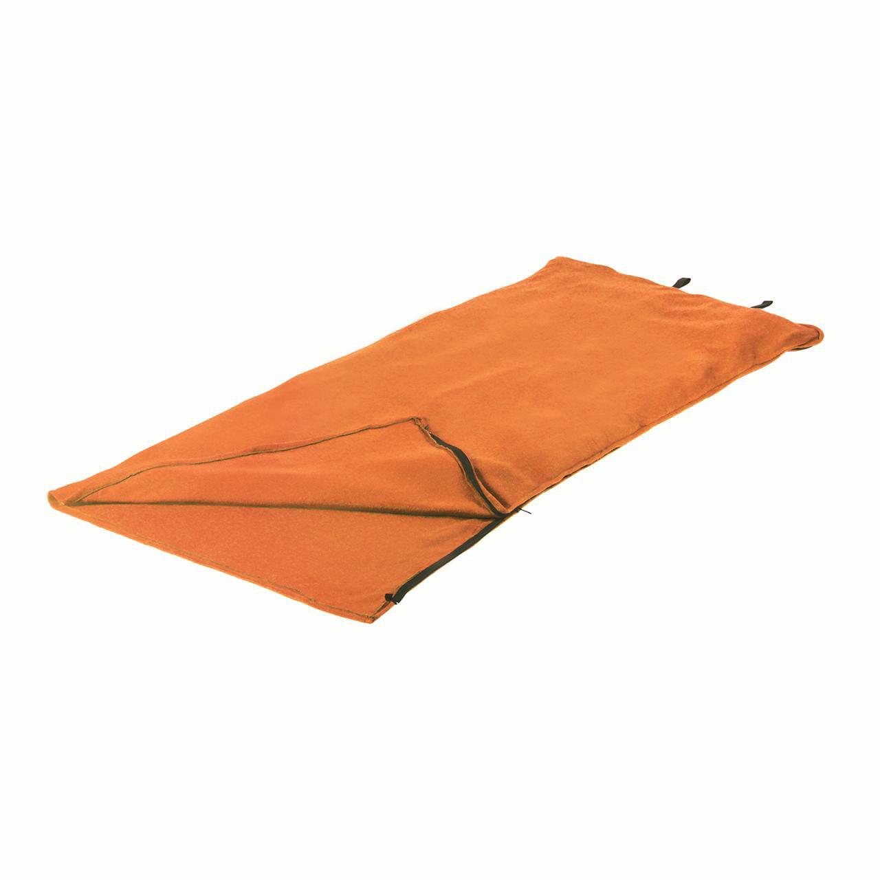 "Stansport Fleece Sleeping Bag 32"" x 75"" Orange by Stansport"