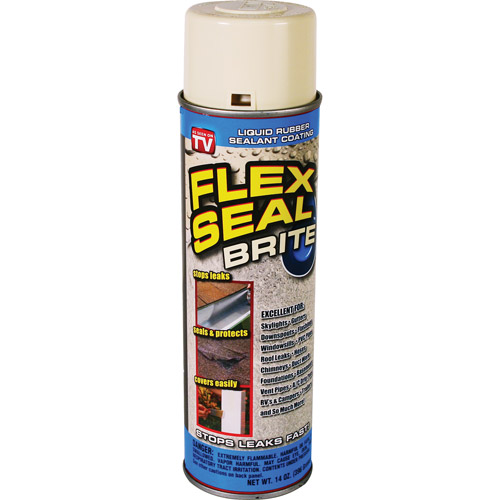 As Seen on TV Flex Seal Brite, White
