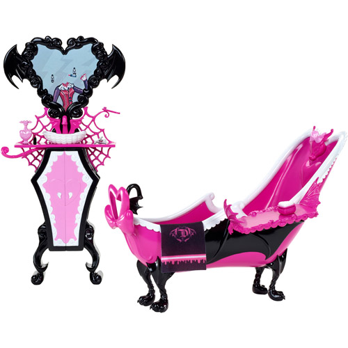Monster High Draculaura's Powder Room Play Set