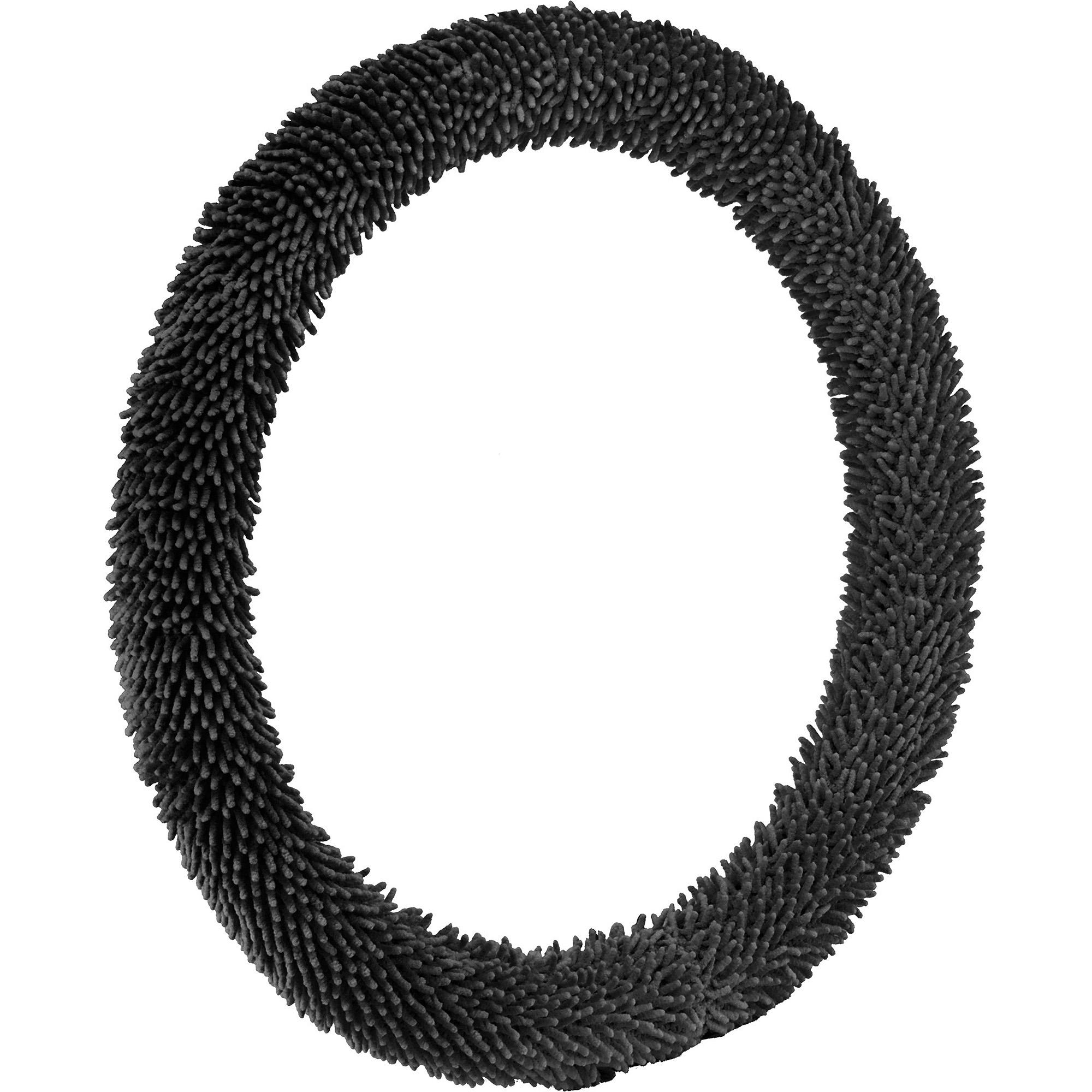 Bell Automotive Black Shaggy Hyper-Flex Core Steering Wheel Cover