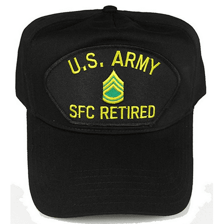 - US ARMY RETIRED SFC SERGEANT FIRST CLASS E-7 RANK HAT CAP NCO NON COMMISSIONED
