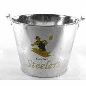 (Pittsburgh Steelers Classic Logo 5QT Ice Bucket)