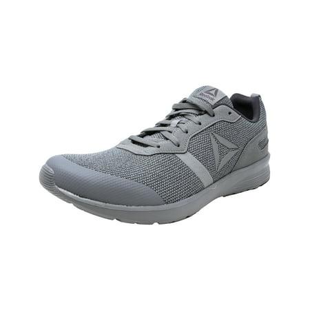 349f36188cb8 Reebok Men s Foster Flyer Flint Grey   Ash White Ankle-High Running Shoe -  11M ...