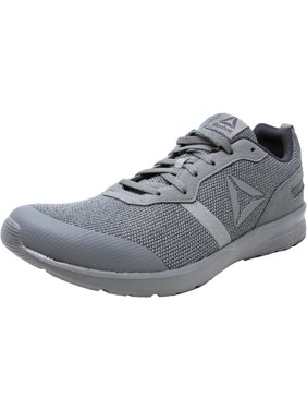 67fab43ea17a Product Image Reebok Men s Foster Flyer Flint Grey   Ash White Ankle-High Running  Shoe - 11.5