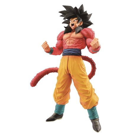 Dragon Ball Master Stars Piece Super Saiyan 4 Son Goku Collectible PVC Figure