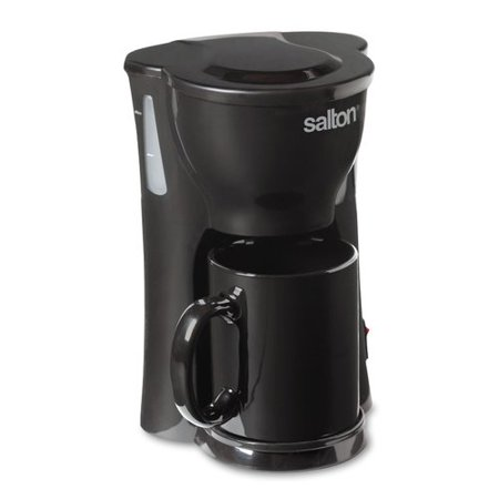 1 Cup Maker (Salton Space Saving 1 Cup Coffee Maker, FC1205, Black)