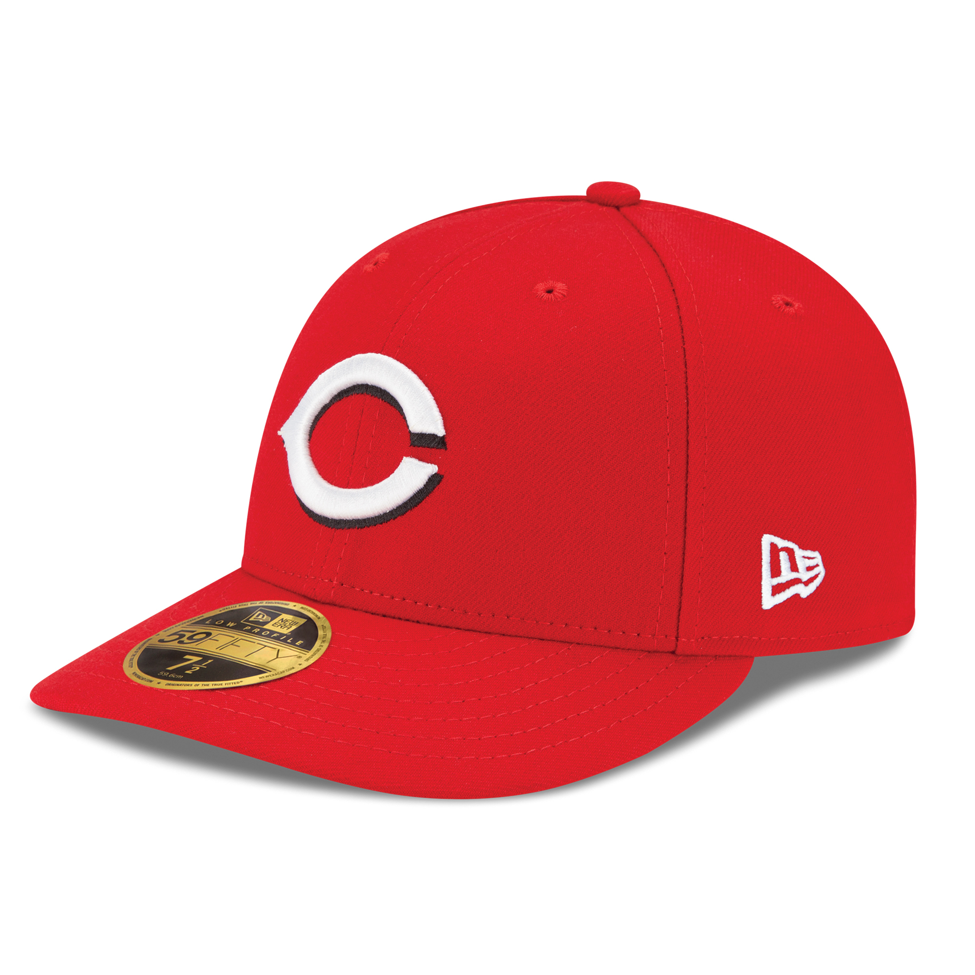 Cincinnati Reds New Era Authentic Collection On Field Low Profile Home 59FIFTY Fitted Hat - Red