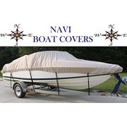 NAVI 14' - 16' TAN MARINE CANVAS SKI - FISHING BOAT COVER