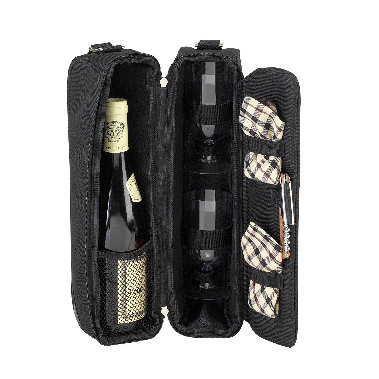 Picnic At Ascot London Sunset Wine Carrier Set