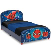 Delta Children Marvel Spider-Man Upholstered Bed, Twin