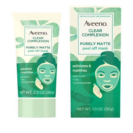 Aveeno Clear Complexion Pure Matte Peel Off Face Mask, 2.0 oz