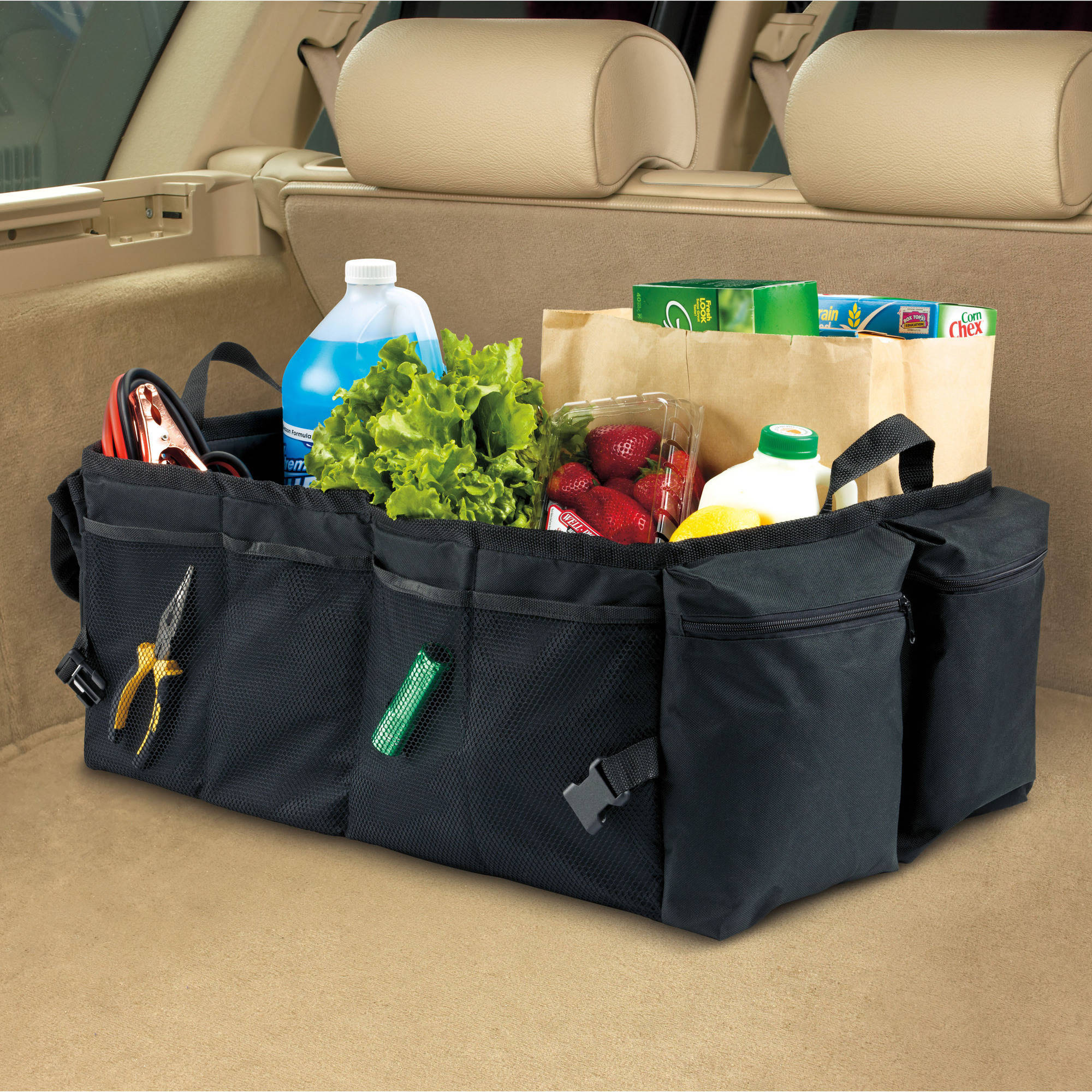 High Road Gearnormous Car Trunk and Cargo Organizer