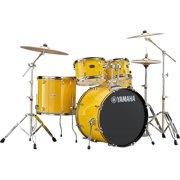 Yamaha Rydeen 5-Piece Shell Pack with 22 in. Bass Drum Mellow Yellow