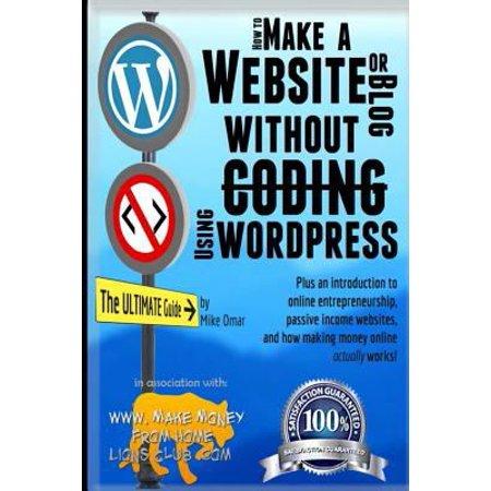 How To Make A Website Or Blog