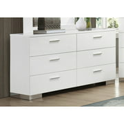 Coaster Company Felicity Collection Dresser, White