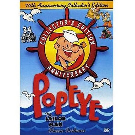 popeye the sailor man classic cartoons 75th anniversary collector s
