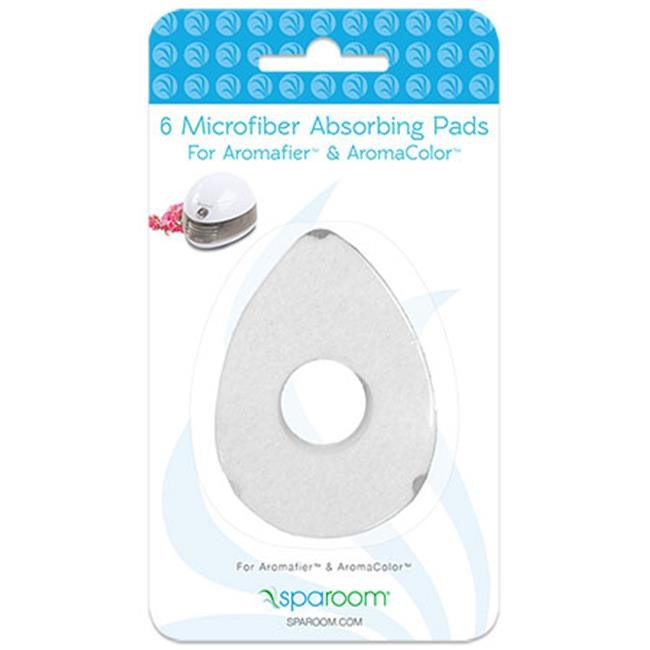 SpaRoom Aromafier/AromaColor Diffuser Refill Pads, 6 Ct