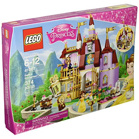 LEGO Disney Princess 41067 Belle's Enchanted Castle Building Kit (374 -