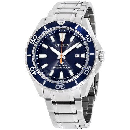 Eco-Drive Promaster Diver Stainless Steel Mens Watch (Eco Drive Professional Diver Watch)