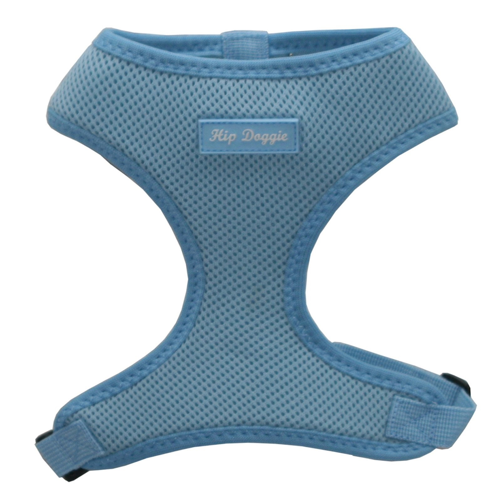 Hip Doggie Ultra Comfort Blue Mesh Harness Vest