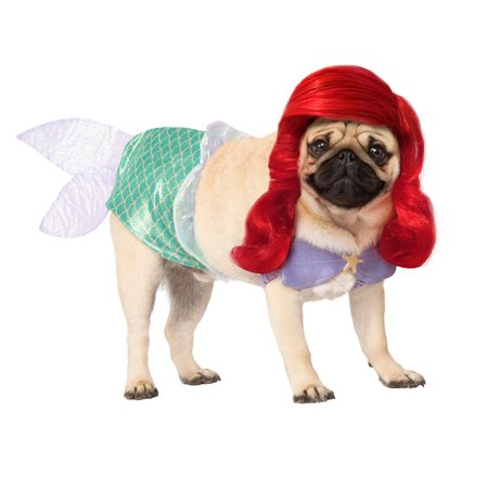 Ariel Disney Princess Pet Halloween Costume - Film Disney Per Halloween
