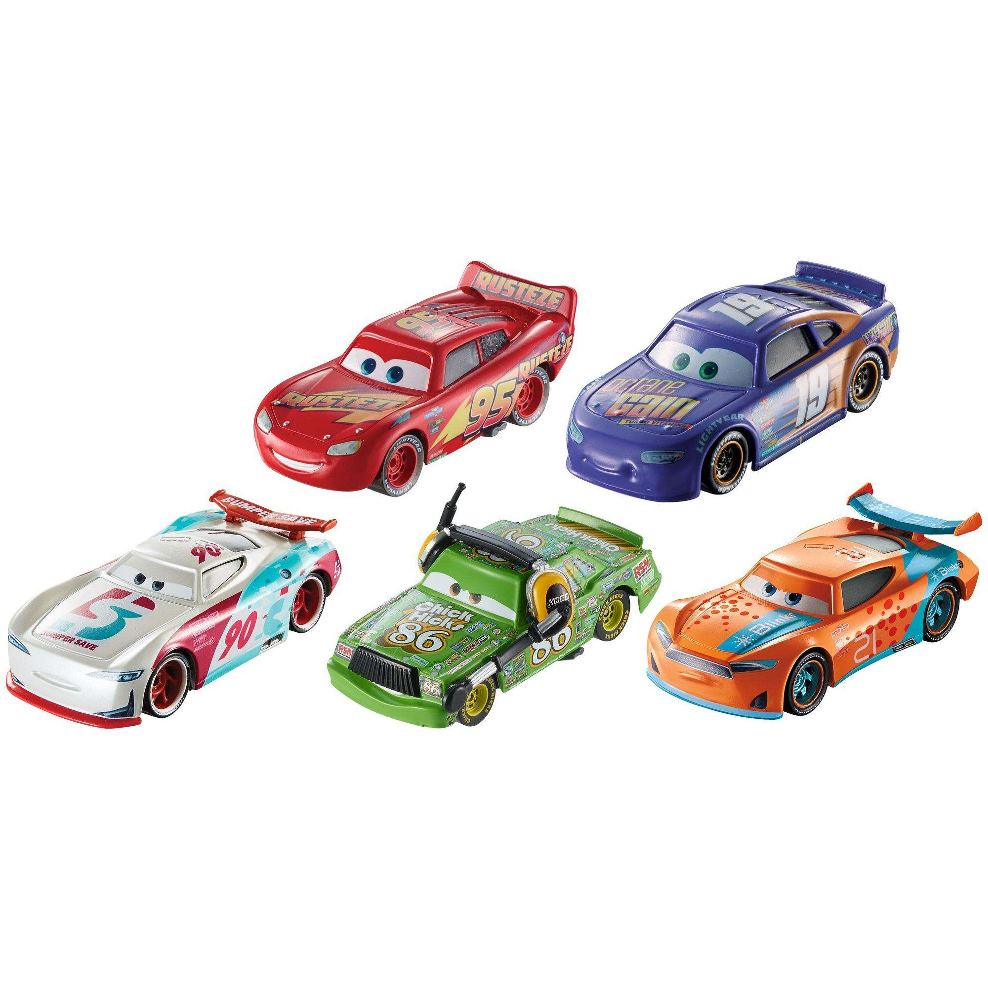 Disney/Pixar Cars 3 1:55 Scale Vehicle 5-Pack