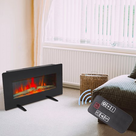 Wall Hanging Electric Fireplace With, Fake Fireplace Heater Wall