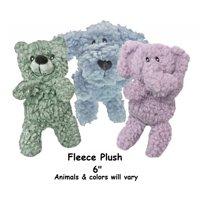 "Aromadog Fleece Dog Toy Calming Pet Seperation Anxiety Aromatherapy Choose Shape (Fleece Plush - 6"")"