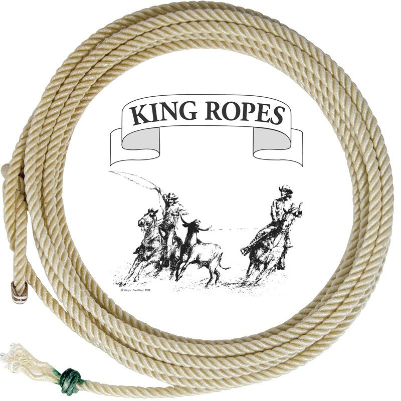 King Saddlery Inc.  Treated Poly Calf Rope